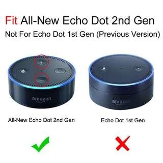 Amazon Echo Dot 2nd Gen  - Black/White