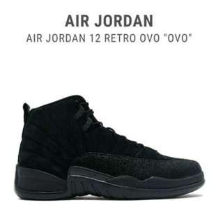 Jordan 12 Retro OVO UA 1:1