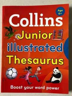 Collins Junior Illustrated Thesaurus Age 6+