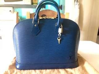 Louis Vuitton Epi Leather Alma Handbag Repriced