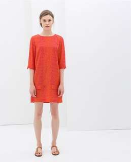 Zara lovely shift dress