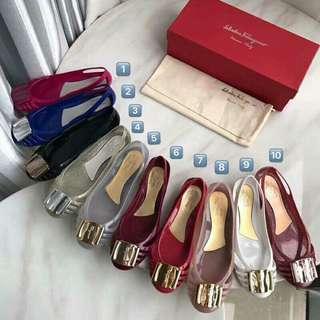 Salvatore Ferragamo果凍鞋