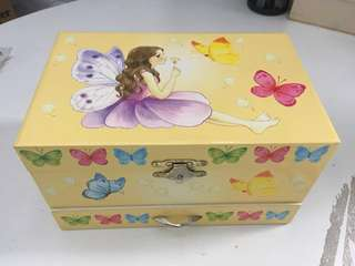 Fairy Music and Jewellery Box