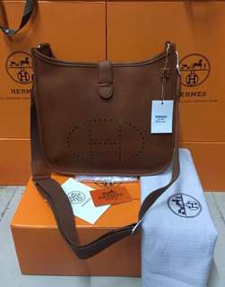 Hermes Leather Sling Bag