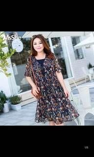 Plus Size Dress (Size: 5XL)