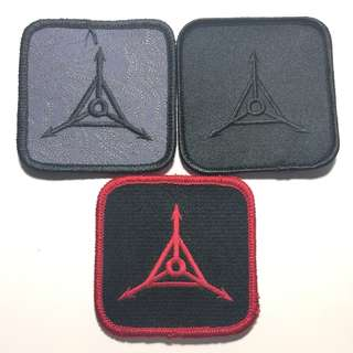 Set of 3 TAD Square Logo Patch