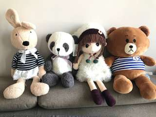 Soft Toy Each  ( Medium / Big Size )