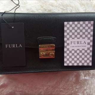 Furla Long Julia Black