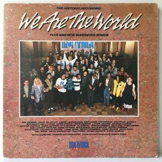 Various ‎– We Are The World (1985 USA Original in Gatefold Sleeve - Vinyl is Mint)