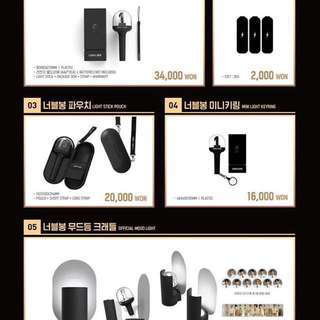 [Please order by 2359 29May] Wanna One World Tour One : The World Official Goods