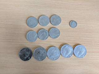 Singapore old coins
