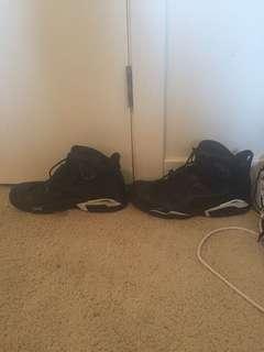 Jordan retro 6s Black Cat