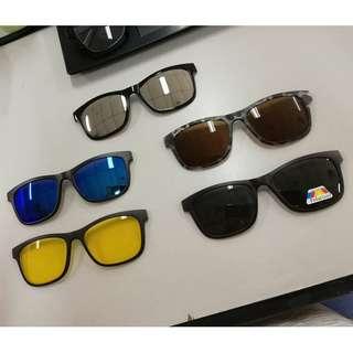 Interchangeable Glasses