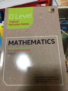 Olevel mathematics revision notes