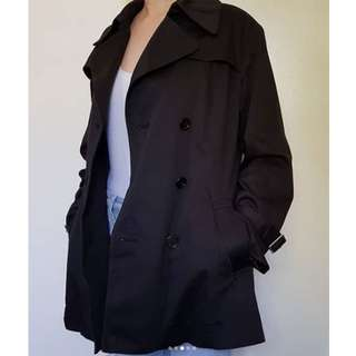 zunao_wearables🌹Double-breasted peacoat 🌹 Black, color not faded