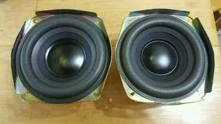 正版 Bose 重低音喇叭一對 woofer speaker