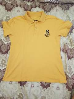 Yellow polo shirt small