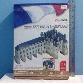 Chateau De Chenonceau - 3D Puzzle