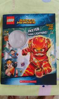 LEGO Faster Than Lightning! DC Comics Flash Super Heroes: Activity Book