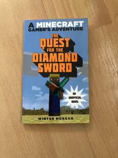 Minecraft A quest for the Diamond sword Novel