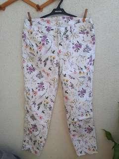 Old Navy Floral Jeans
