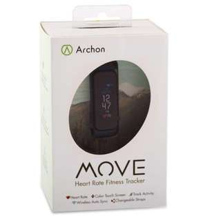 ARCHON MOVE HEART RATE FITNESS TRACKER 智能心率健康手環 運動手錶 (包順豐)