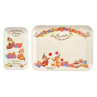 Chip and dale tray