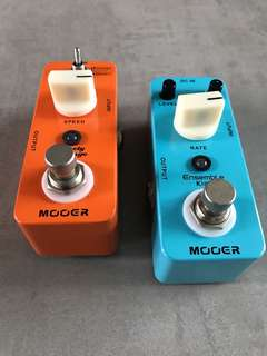 Mooer Chorus and Phaser