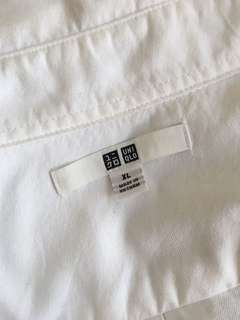 Uniqlo White Long Sleeves