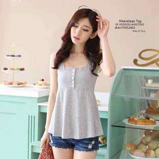 SLEEVELESS TOP Fits S To L  Price : 270