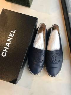 Chanel 漁夫鞋 (just used 1 time) with box