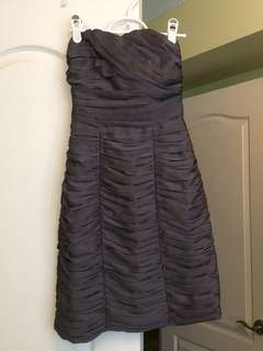 XS HM Ruched Formal Dress