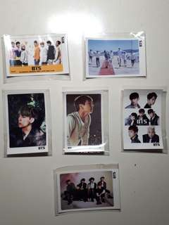 BTS Photocards (unofficial)