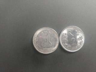 India RS 2 Coin