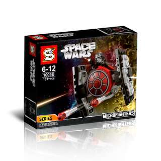 SY™ 1005B Star Wars First Order TIE Fighter Microfighters