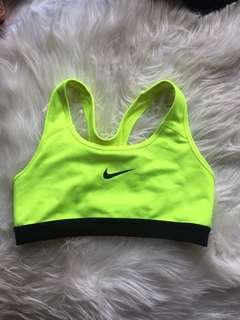 Nike crop top sports bra