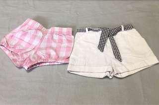 Bundle of 2 shorts