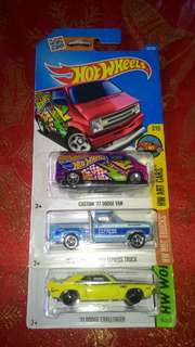 Hotwheels Dodge Cars