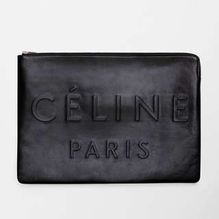 Celine MADE IN LARGE CLUTCH POUCH IN LEATHER 代購