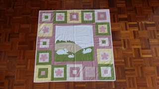 Patchwork quilt for babies