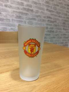 Quality Manchester United Frosted Glass
