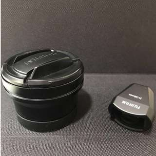Fujifilm wide angle lens and view finder for x70