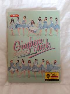 AKB48 Gingham Check DVD