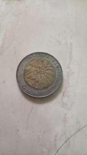 Uang koin seribu thn 2000