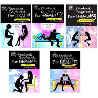 My Facebook Boyfriend For Real(Books 1-5)