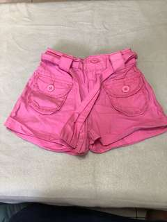 Fox baby pink shorts