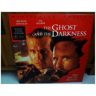 The Ghost And The Darkness Laserdisc LD Movie