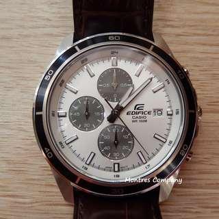 Montres Company香港註冊公司(25年老店) CASIO edifice EFR-526 EFR-526L EFR-526L-7 EFR-526L-7A 五隻色都有現貨 EFR526 EFR526L EFR526L7 EFR526L7A