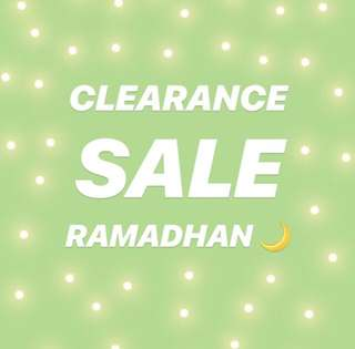 CLEARANCE SALE 🌙