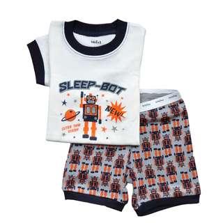 "(BG 0026-1) New Ori Baby Gap Kid  Pyjamas ""Sleep Robot"" 2Y"